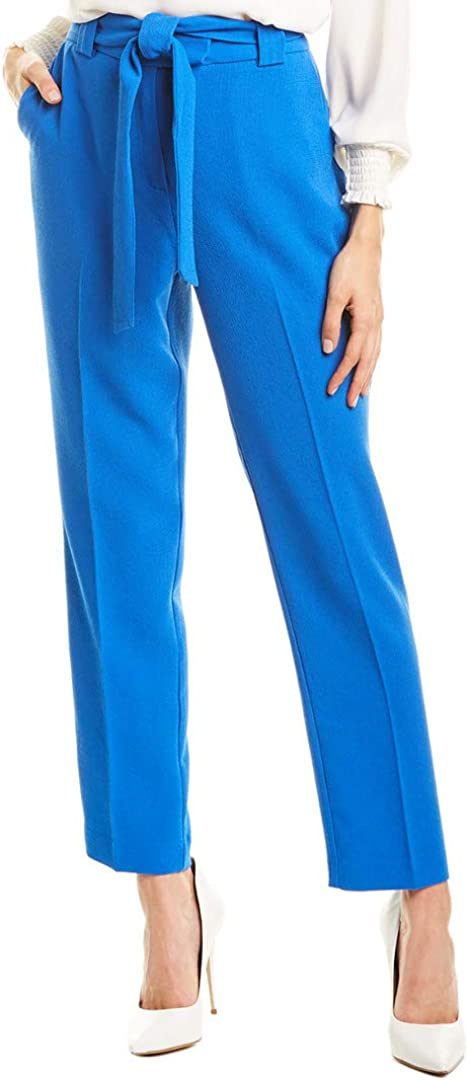 Vince Camuto Women's Slim Belted Pants