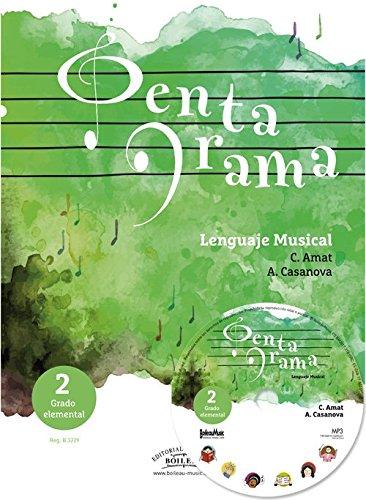 Pentagrama Lenguaje Musical Elemental 2 (libro en castellano) Nueva edición (B.3229)