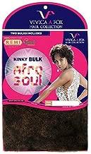 VIVICA A FOX Human Afro Soul Kinky Bulk 16