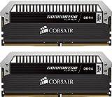 Corsair Dominator Platinum Módulo de Memoria XMP 2.0 de Alto Rendimiento de 8 GB, 2 x 4 GB, DDR4, 3600 MHz, C18, con Ventilador Dominator Airflow RGB LED, Negro