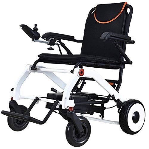 Leichter Rollstuhl, elektrischer Rollstuhl, schnelles Zusammenklappen, elektrischer Elektrorollstuhl Langlebiger, sicherer und einfach zu Fahrender Rollstuhl, Aluminiumlegierungsrahmen in Flugzeugqu