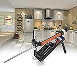 Messerschärfer Professionell Fix-Winkel für Küche mit 4-Steine Schleifstein