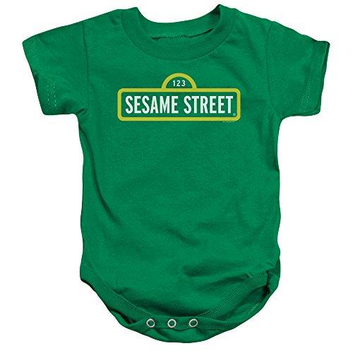 Sesame Street - Barboteuse - Bébé (garçon) - vert - 12 mois