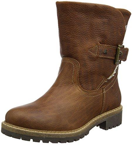 Gaastra Damen LEDRO HIGH TMB FUR W Biker Boots, Braun (Cognac 2400), 38 EU