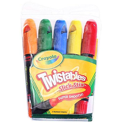 XIONGXIONG Rotuladores Se volvió hacia Gran Crayon Pintura Material de Bellas Artes de niños Cepillo de Color fijó 5 Dibujo para Colorear resaltado y subrayado (Color : Color)