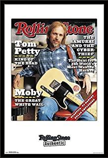 Trends International Magazine Mounted Poster Rolling Stone Tom Petty 1995, 24.25
