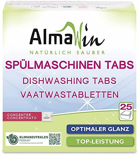 AlmaWin Bio Spülmaschinen-Tabs (2 x 25 Stk)