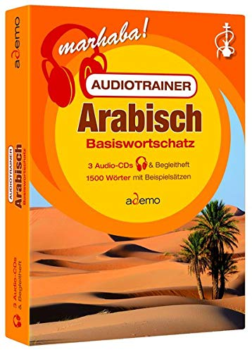 Audiotrainer Basiswortschatz Arabisch: 3 Audio/mp3-CDs + Begleitheft