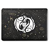 GMYLE Plastic Hard Case for Old MacBook Pro 13 Inch with Retina Display No CD-ROM (A1502/A1425, Version 2015/2014/2013/end 2012), Star Constellations Pisces The Fishes