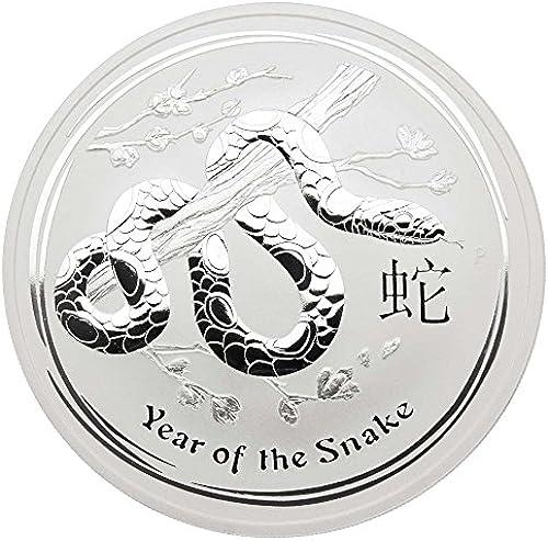 10 oz Australien 2013 Lunar II  Year of the Snake  (Schlange) 10 Unzen 999 1000 Silbermünze