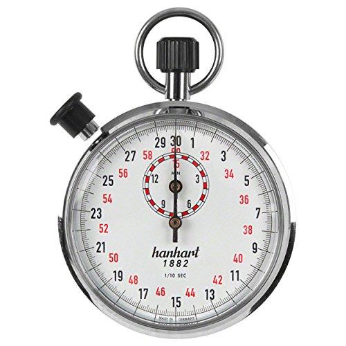 Hanhart ORIGINAL Additionsstopper Stoppuhr Stopuhr Stop Uhr 1/10 Sek. Einteilung