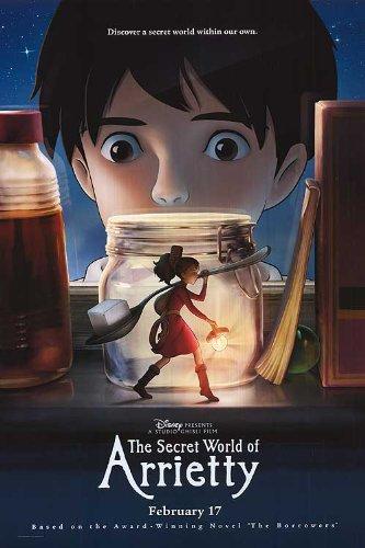 Empire - Póster de la película teatral de Secret World of Arrietty (27 x 40 cm)