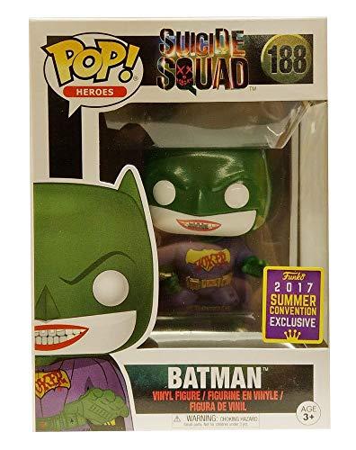 DC Funko POP! Escuadrón Suicida Joker Batman SDCC 2017 Exclusive