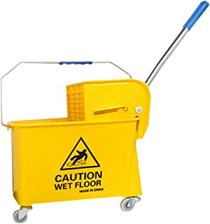 Cleaning Mop Bucket, Yellow