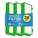 Lot de 3 filtres de protection du moteur pour aspirateur robot Kobold VR-200 comme Vorwerk cassette de filtre à air, filtre à...