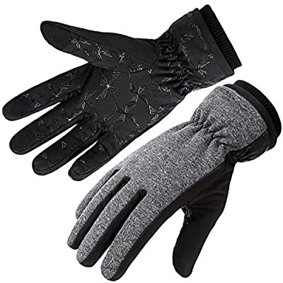 Thermal Warm Touchscreen Gloves with Windproof Lightweight...