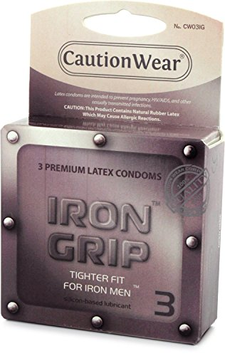 Caution Wear Iron Grip Snugger Fit Retail 3 pack
