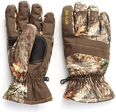 HOT SHOT Mens Defender Camo Thinsulate Insulated Hunting Glove product image