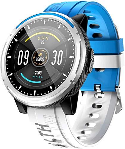JSL Reloj inteligente 1.3 pulgadas deportes de moda IP67 impermeable fitness tracker podómetro-azul