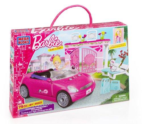 mega bloks barbie Mega Bloks 80223U - Barbie Garage Solarium con Cabriolet