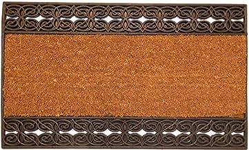 oKu-Tex Doormat, Coconut Fibre, Natural, 45 x 75 x 1,4 cm