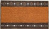 oKu-Tex Felpudo, Fibras de Coco, Naturaleza, 45 x 75 x 1,4 cm