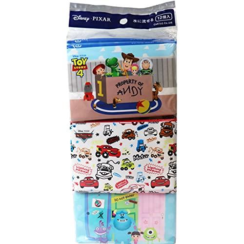 ディズニー ピクサー 水に流せるポケットティシュ 16枚(8組)×12パック