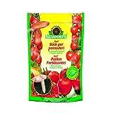 Palitos fertilizantes para tomates y fresas