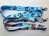 Set of 2 Lilo Stitch Lanyard Key Chain Holder ~Lanyard~ (lilo Stitch)