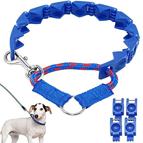 MOTOY Collar para Perros Collar para Mascotas Ajustable Collar de Adiestramiento para Perros Mejor Collar...