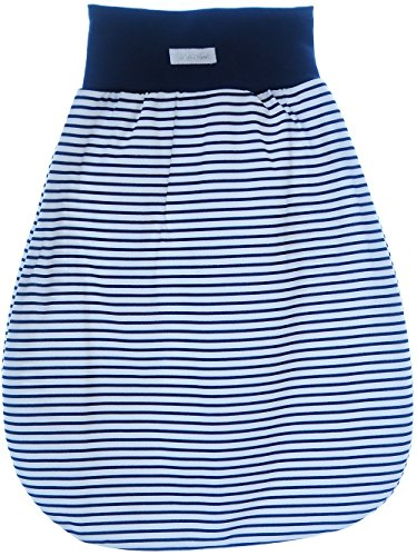 Baby rugzak slaapzak babyslaapzak zonder mouwen grijs blauw roze 56/62-50cm. blauw