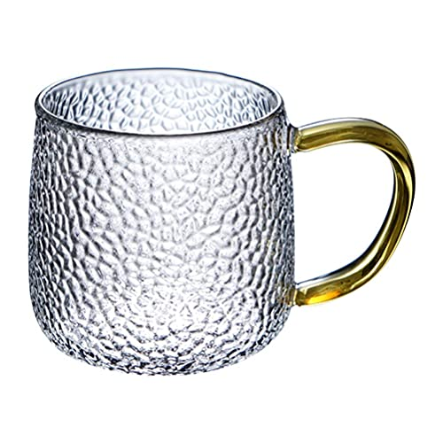 sahadsbv Tazas de sake de vidrio japonés taza de sake resistente al calor taza de vidrio aislante taza de té para infusión de café y leche té