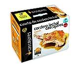 CASCAJARES - Cuarto de Cordero Asado. Cocinado con su propio jugo a falta de terminar unos minutos en el horno. Para 2-3 personas.