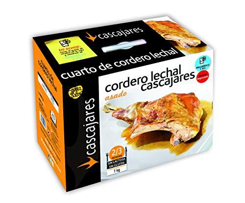 CASCAJARES - Cuarto de Cordero Asado. Cocinado con su propio jugo a falta de terminar unos minutos...