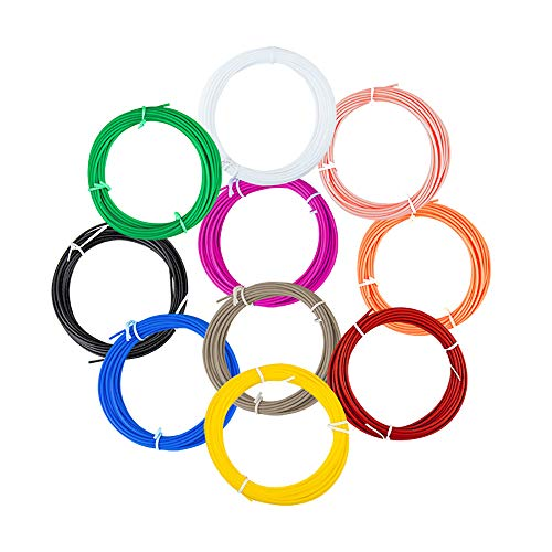 3D Printer Consumables 1.75 Mm 3D PLA Pen Filament Filling 10 16 Feet Each Color Non-toxic Printing Filament Suitable For Children Tasteless Filling