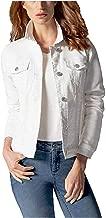 Buffalo David Bitton Ladies' Knit Denim Jacket (White - S)