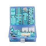 Shhjjyp Kit de exploración de circuitos electrónicos Juguetes educativos para niños de 8 años en adelante con juegos cerebrales, circuitos de experimentos y magnetismo para estudiantes de secundaria