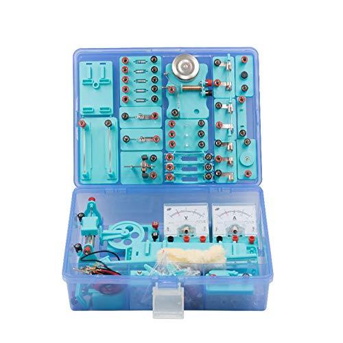 Shhjjyp Física Circuito de Magnetismo Eléctrico Kit básico Electrónica Primaria Experimento Escolar...