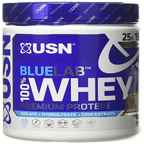 USN Bluelab 100% Premium Whey Protein Caramel Chocolate, 510 g