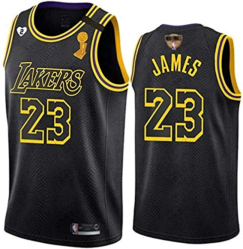 XIETARPAULIN NBA Lakers # 23 Boys Jersey Conjunto Lakers Baloncesto Moda (Size : Large)