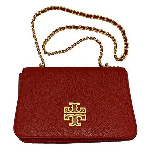 Tory Burch Britten Adjustable Shoulder Bag Redstone