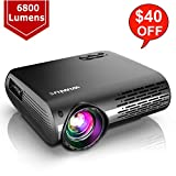 Best 1080p Projector Under 500s - WiMiUS Newest P20 Native 1080P Projector 6800 lumens Review
