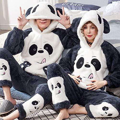 Winter-Pyjama, Anzug, Nachtwäsche, Flanell, weich, Einteiler, Pyjama, Cartoon,...