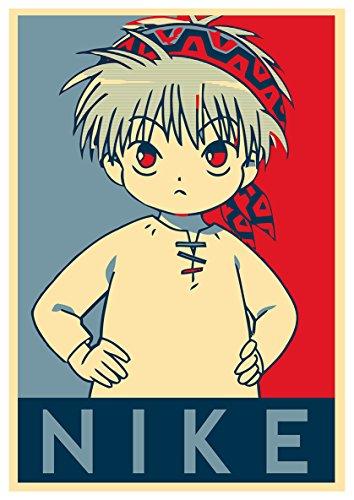 Instabuy Posters Guru Guru Propaganda Nike - A3 (42x30 cm)