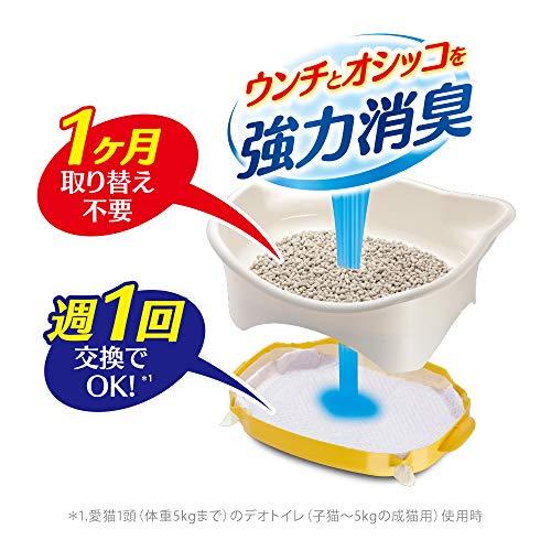 デオトイレ猫用トイレ本体子猫から体重5kgの成猫用
