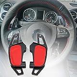 LSYBB Palanca De Cambios De ExtensióN De La Paleta del Volante para VW Golf GTI 7 R GTD GTE Mk7 Polo 6c GTI Passat B8 R-Line Scirocco No para Golf 7
