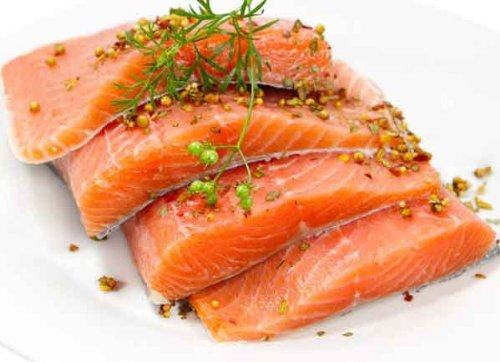 2 lbs. Fresh Salmon Fillets by Charleston Seafood