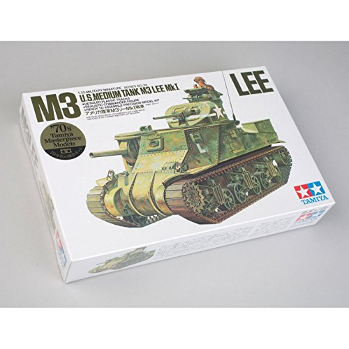 タミヤ 1/35 ミリタリーミニチュアシリーズ No.39 アメリカ陸軍 M3リー Mk.1戦車 プラモデル 35039