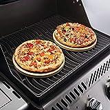 Napoleon 70000 10 Inch Personal Sized Set Pizza Baking Stone, Multi