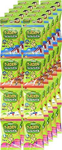 『カルビー サッポロポテト つぶつぶベジタブル ミニ 4 36g (9g × 4袋) × 10袋』の6枚目の画像